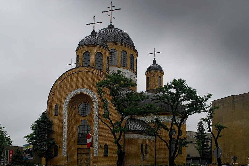 Orthodox Church, Building, The Yellow Building, Temple