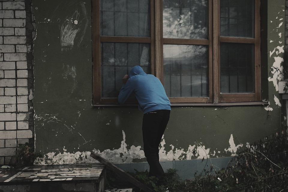 Devastation, Peeping, Theft, Thief, Addict