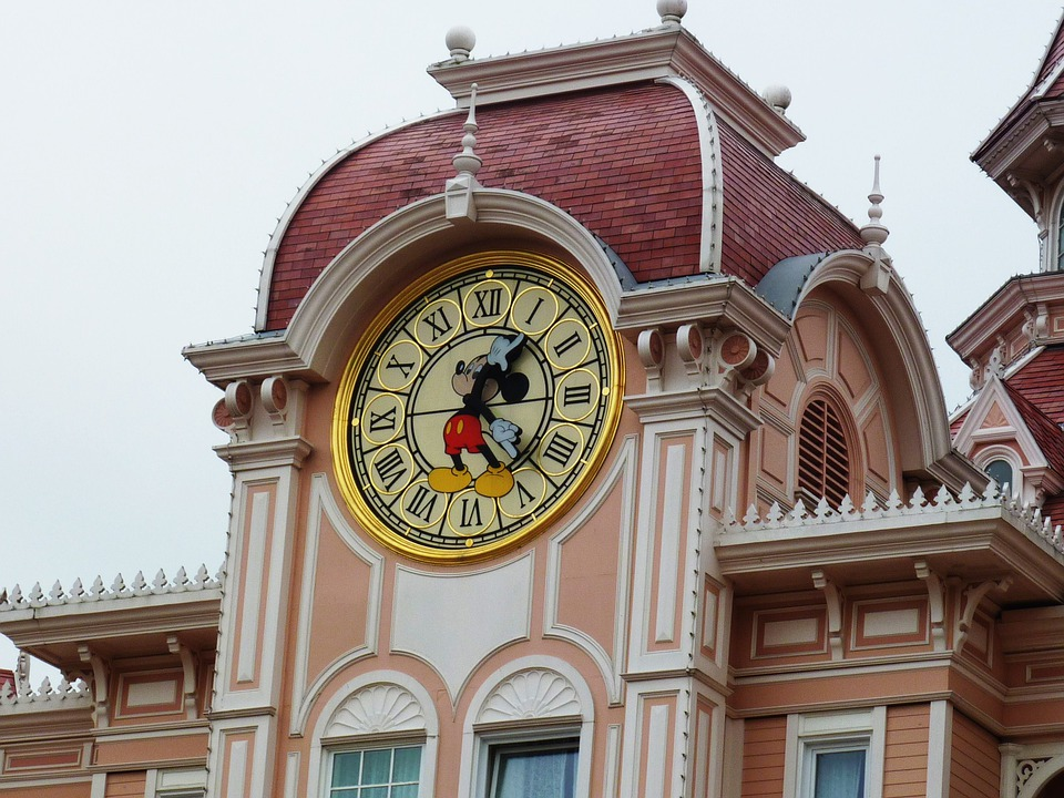 Paris, France, Disneyland, Theme Park, Attractions