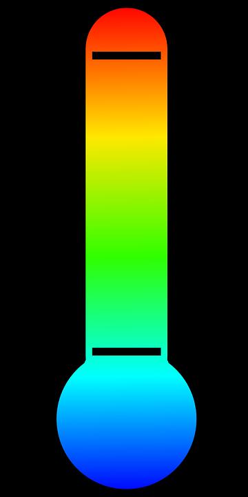 Thermometer, Temperature, Rainbow, Measurement, Measure