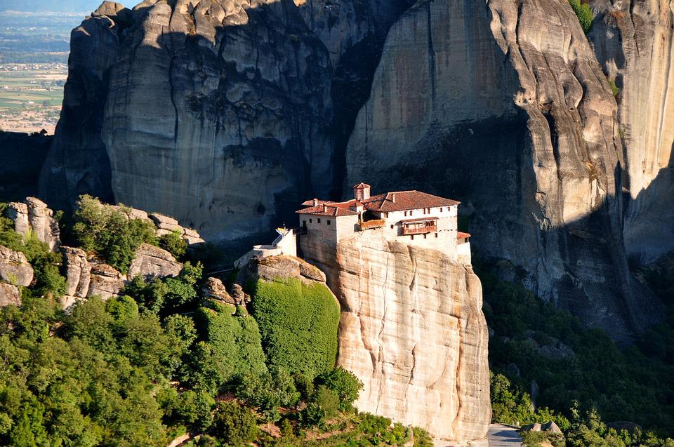 Meteora Monasteries, Monastery, Thessaly, Greece