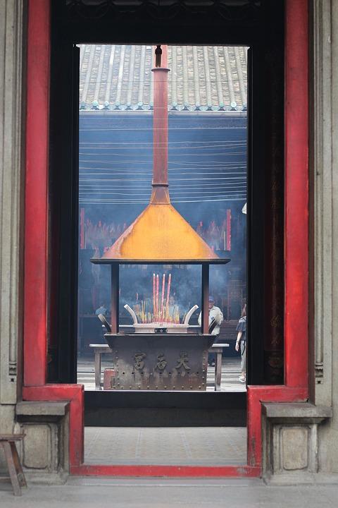 Thienhau, Pagoda, Vietnam, Chinatown
