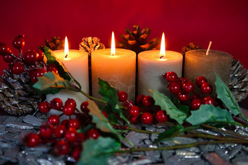 Christmas, Third Advent, Advent, Candlelight, Candles