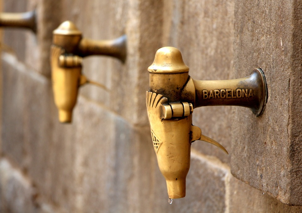 Barcelona, Water, Tap, Thirst