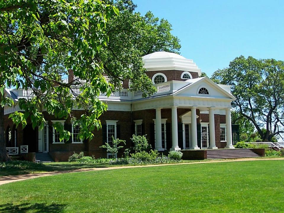 Monticello, Thomas Jefferson, Home, Historic, Jefferson