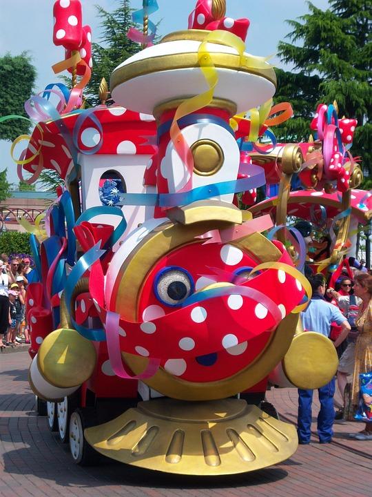 Train, Amusement Park, Animation, Thomas The Train