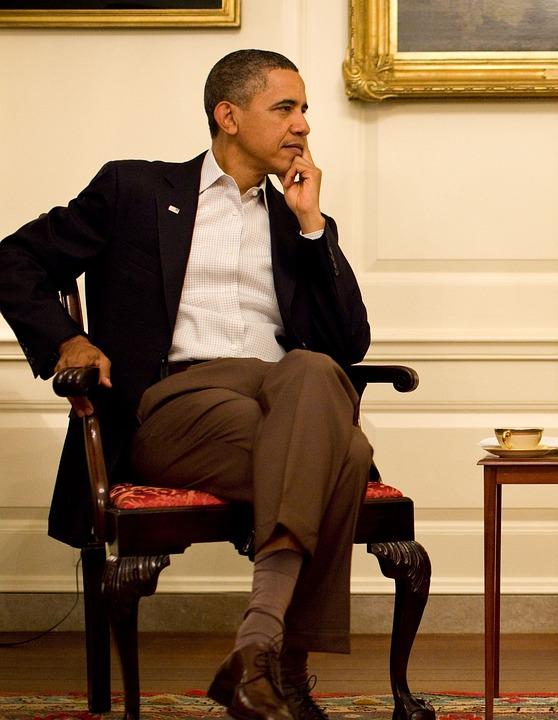 Barack Obama, 2011, Thoughtful, Décontraté, Portrait