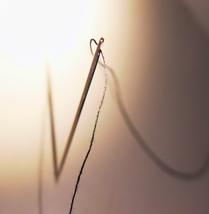 Needle, Thread, Yarn, Sew, Sewing Thread, Tailoring