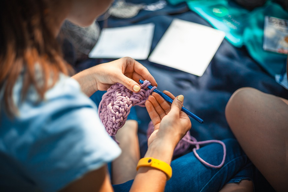 Knitting, Needlework, Thread, Hobby, Craft, Fashion
