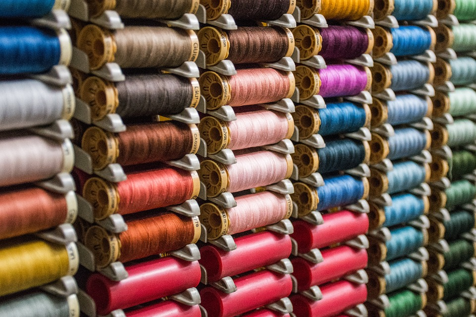 Reels, Threads, Coil, Sewing, Needle, Crafts, Design