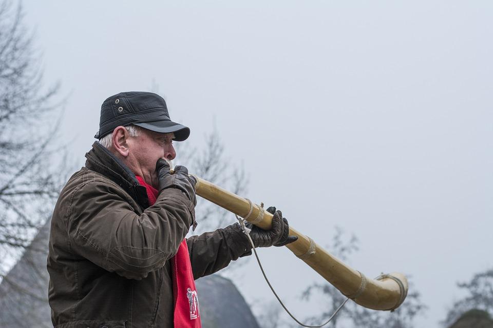 Midwinter Horn, Advent, Three Kings, Midwinter, Twente