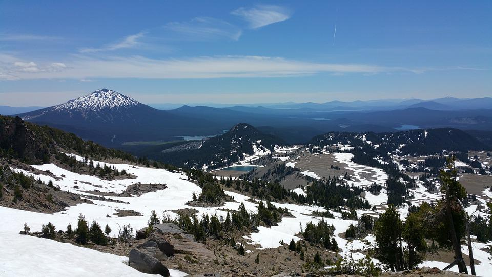 Mountain, Oregon, Three Sisters