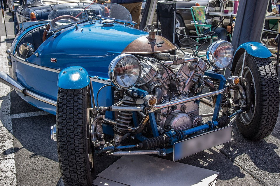 Three Wheeler, Tricycle, Vehicle, Classic, Oldtimer