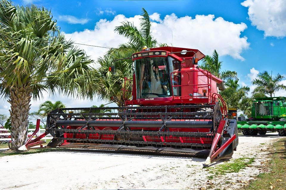 Combine, Thresher, Farm, Agriculture, Harvester