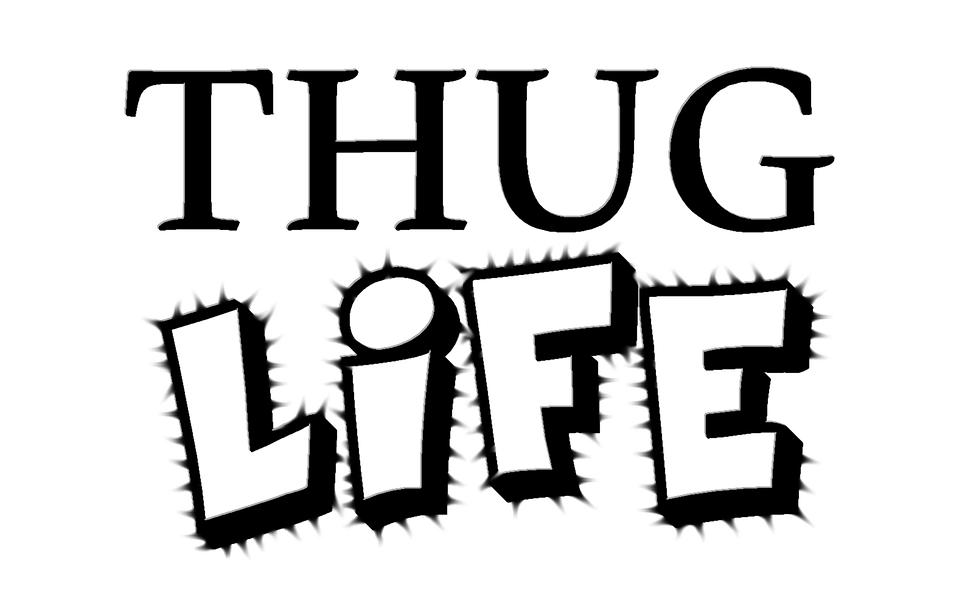 Thug, Life, Thug Life, Young, Suburbs, Text