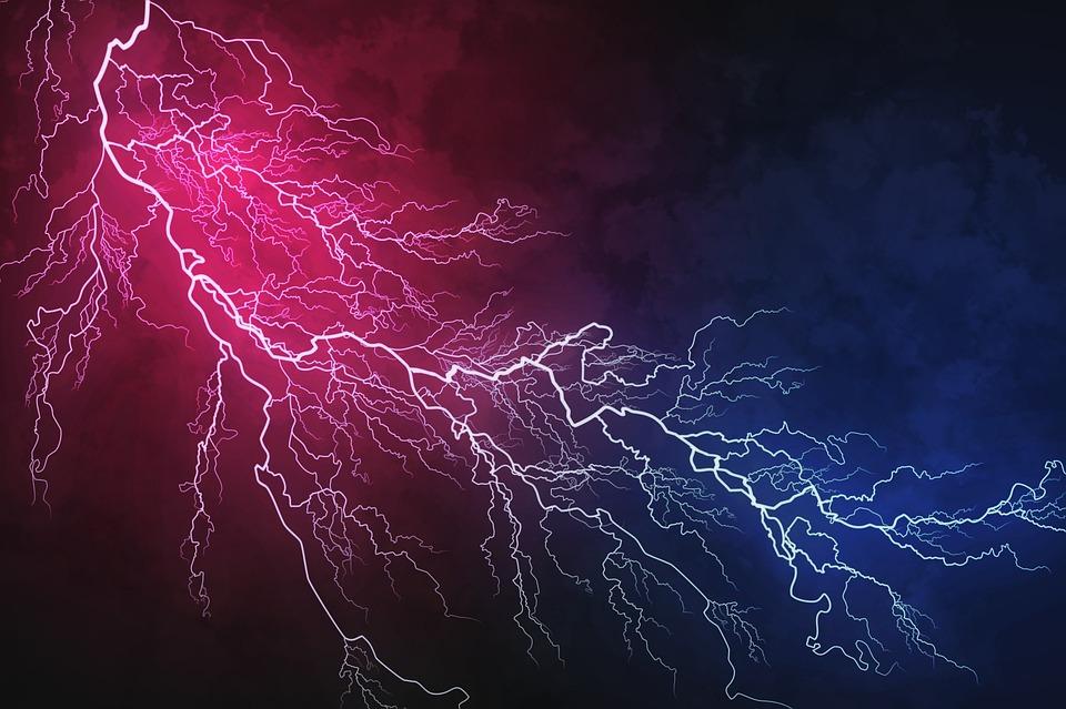 Lightning, Flash, Bolt, Energy, Power, Thunder
