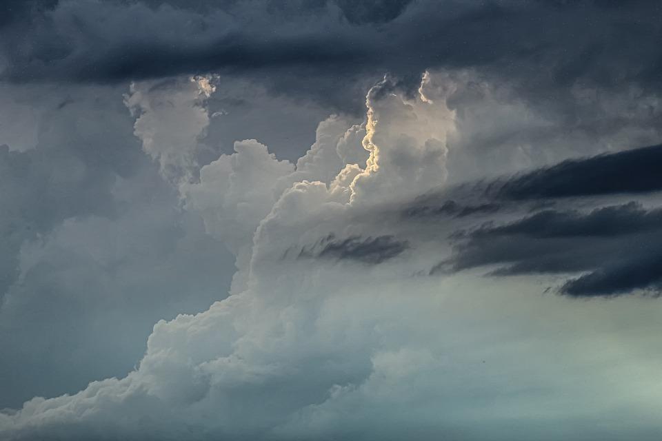 Cumulonimbus, Scud Clouds, Clouds, Thunder, Summer