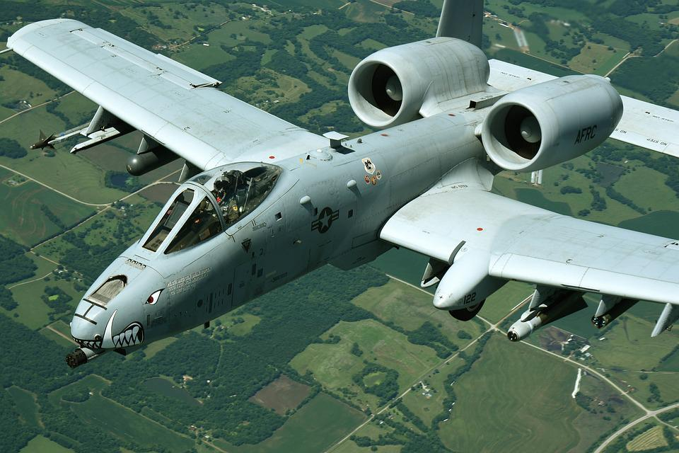 Fini-flight, A-10, Warthog, Thunderbolt