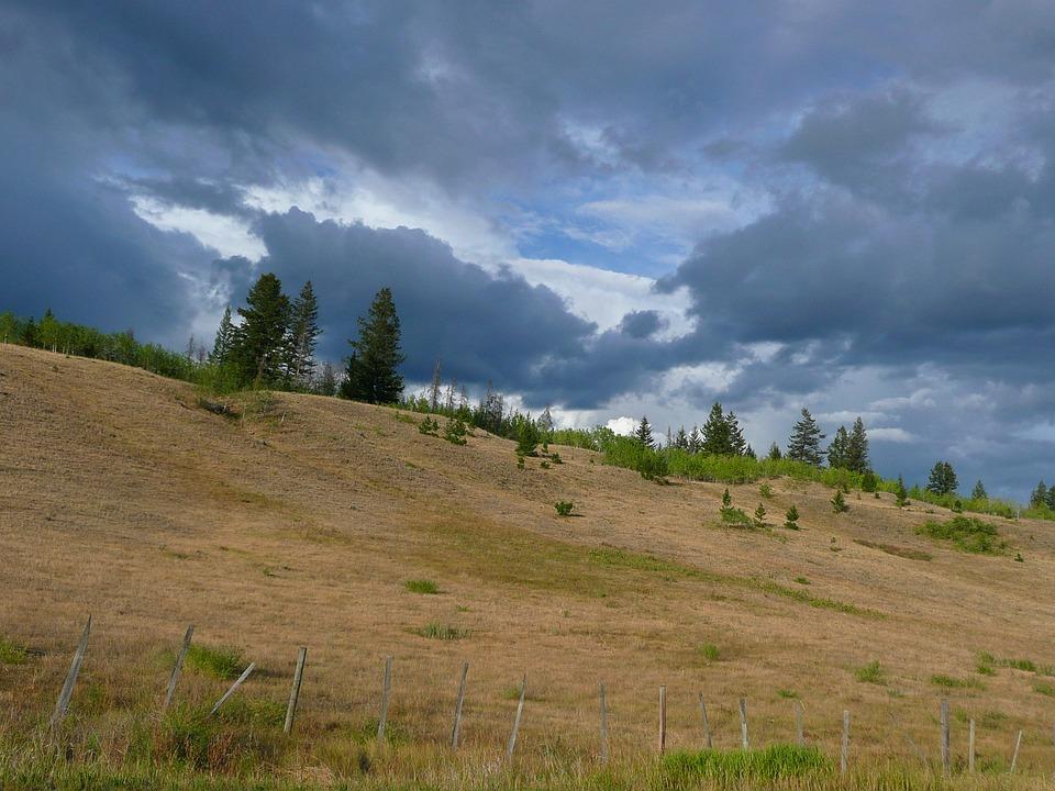 Thunderstorm, Dark Clouds, Weather, Landscape