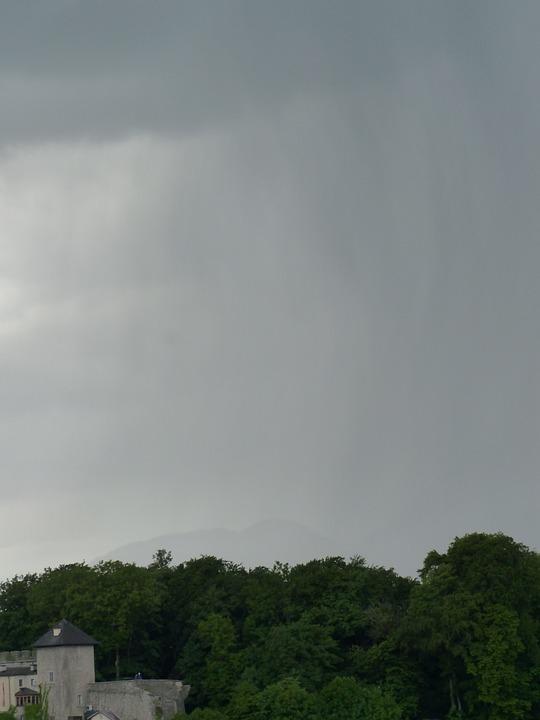 Thunderstorm, Storm, Rain, Rainstorm, Rain Clouds