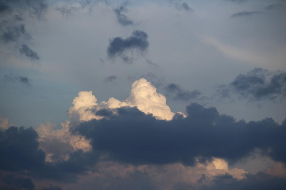 Clouds, Thunderstorm, Sky, Weather, White Clouds