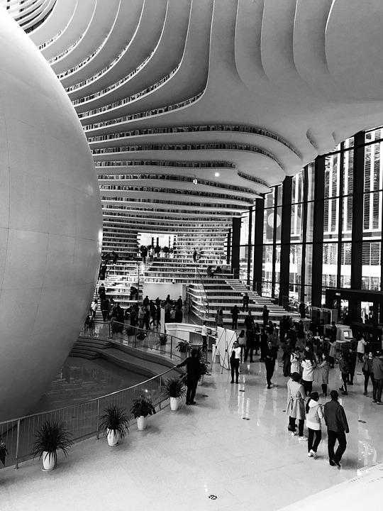 Tianjin, Library