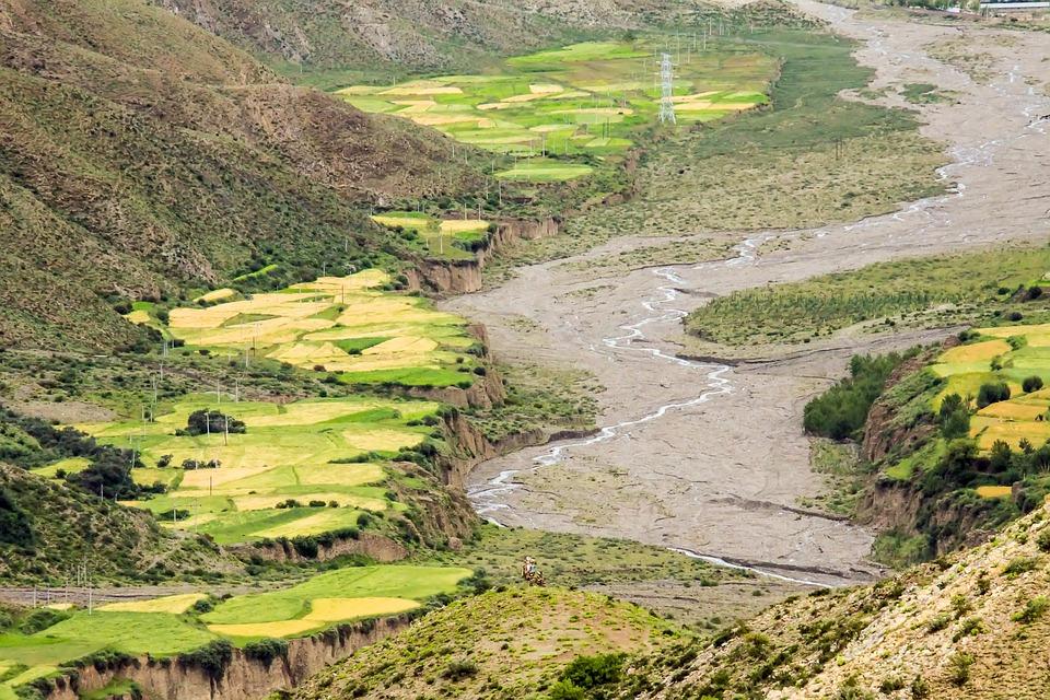 Tibet, China, Mountains, Landscape, Nature, High