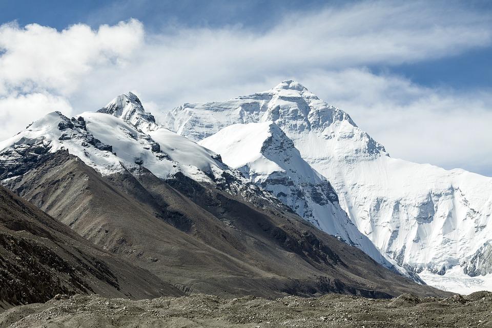 Tibet, China, Mountains, Buddhism, Landscape