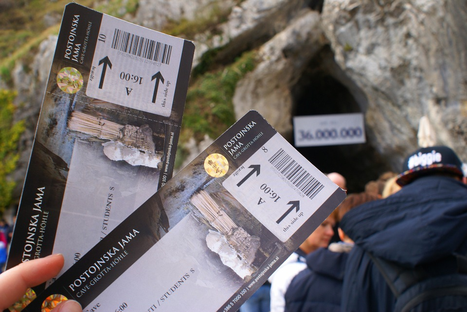 Tickets, Access Card, Tour, Authorization, Grotto