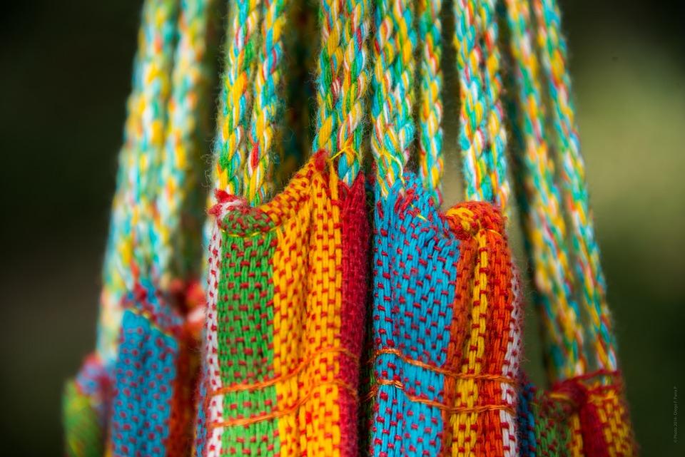 Hammock, Tie, Rope, Relax, Holidays, Color, Multicolor