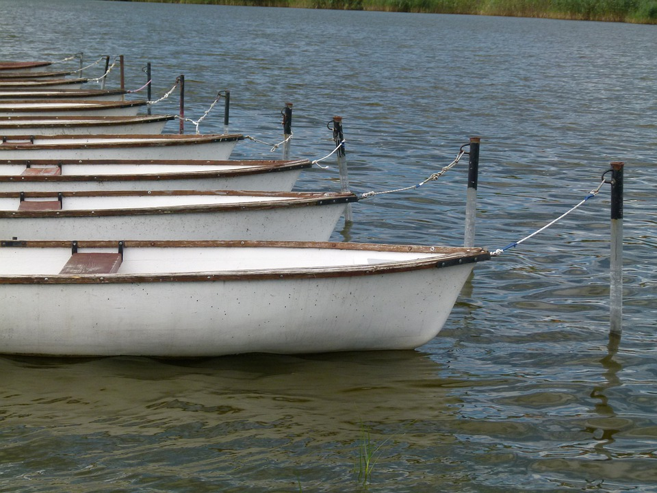 Tihany, Boat, Lake, Water