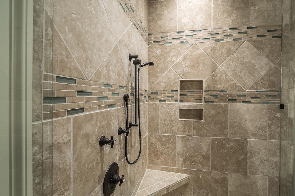 Free photo Tile Interior Luxury Shower Modern Decor Bathroom - Max Pixel