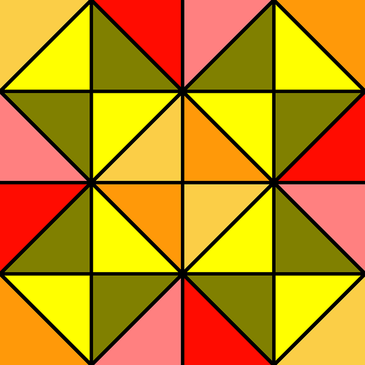 Basic, Tile, Pattern, Geometric, Simple, Bright