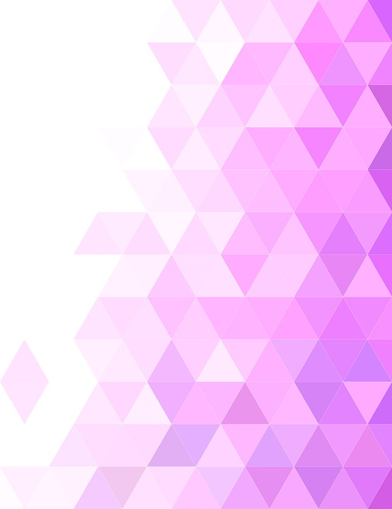 triangle background tile design pink mosaic
