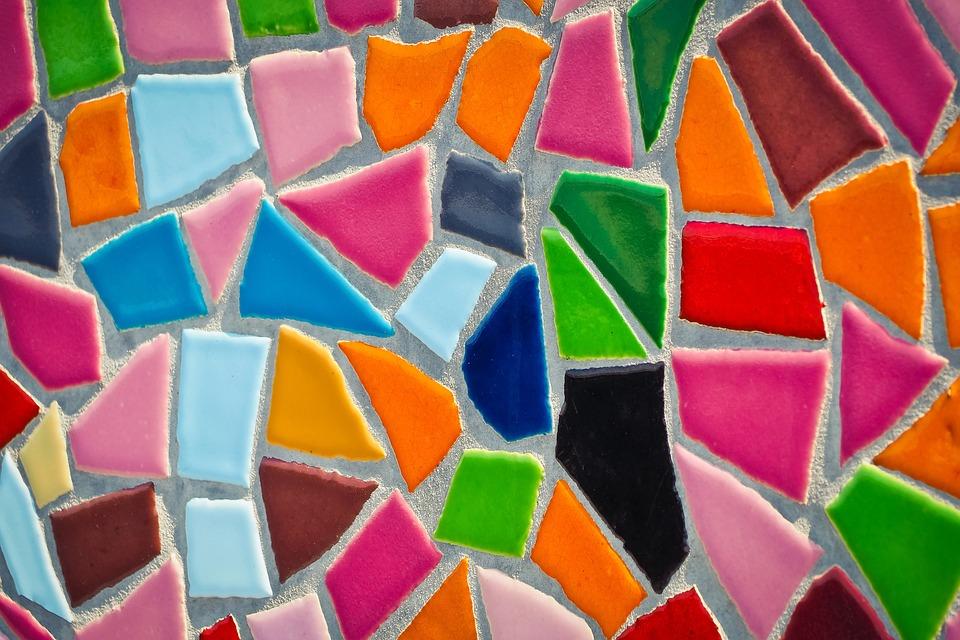 Mosaic, Tiles, Pattern, Texture, Background, Ornament