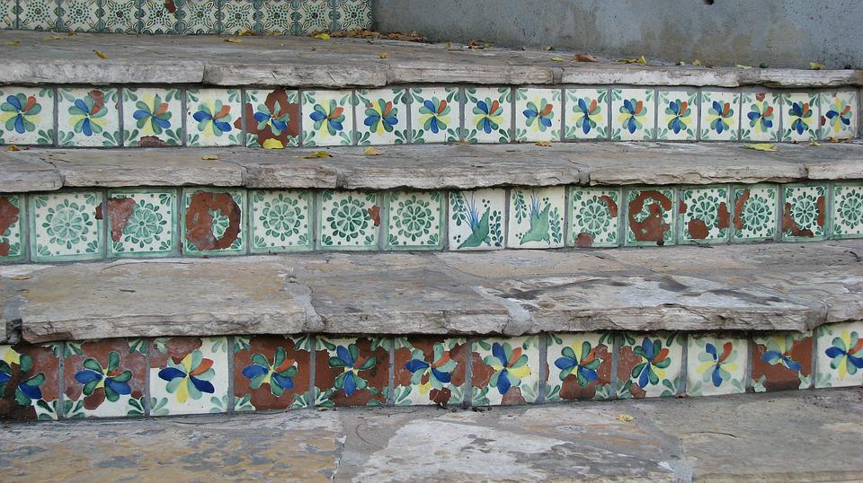 Spanish, Tiles, River Walk, San Antonio