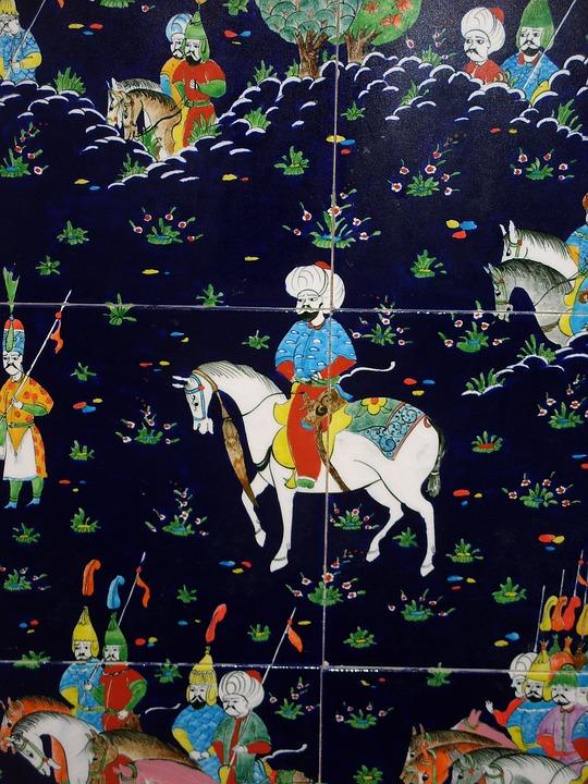 Topkapi Tiles, Istanbul, Tiles, Tiles Of Topkapi