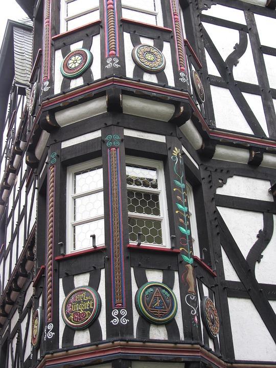 House, Timber-framed, German