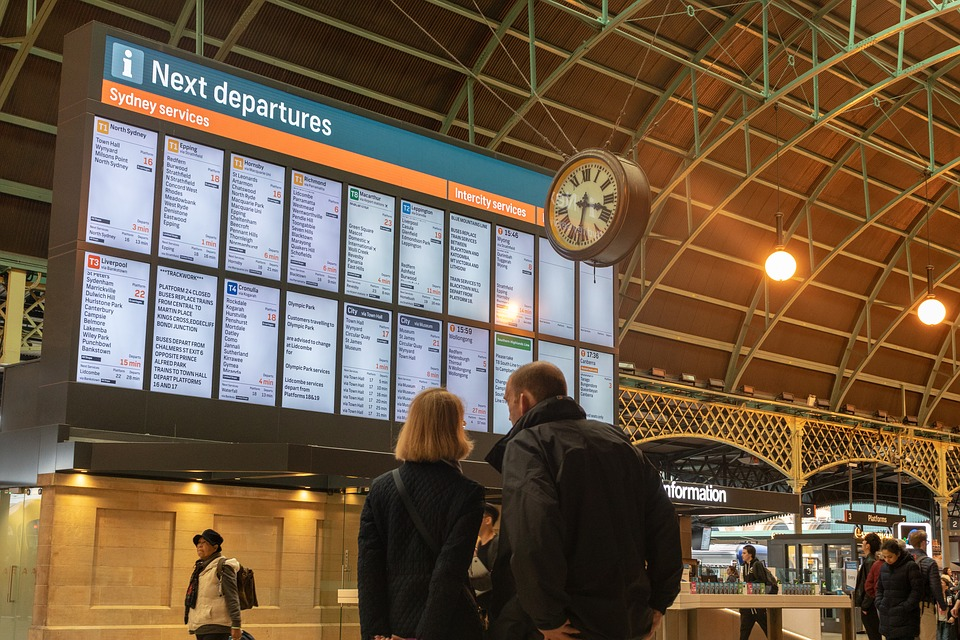 Information, Board, Timetable, Schedule, Time, People