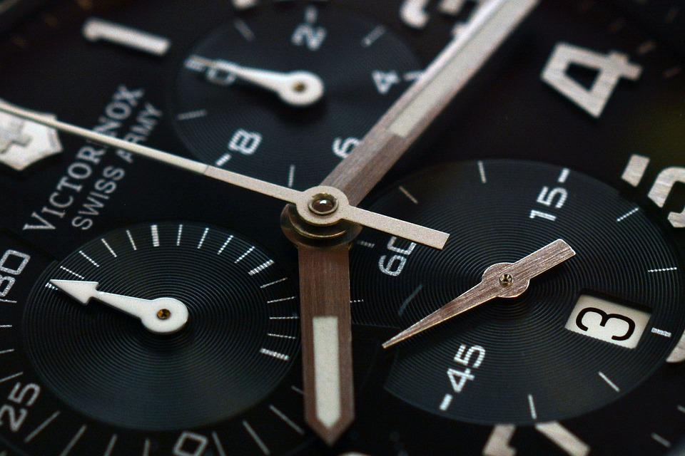 Clock, Time, Watch, Chronograph, Masculine, Pointer
