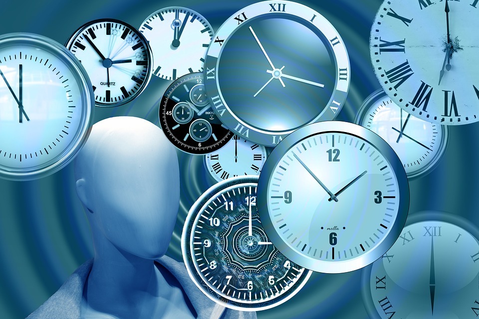 Time, Clock, Head, Display Dummy, Watches, Time Of