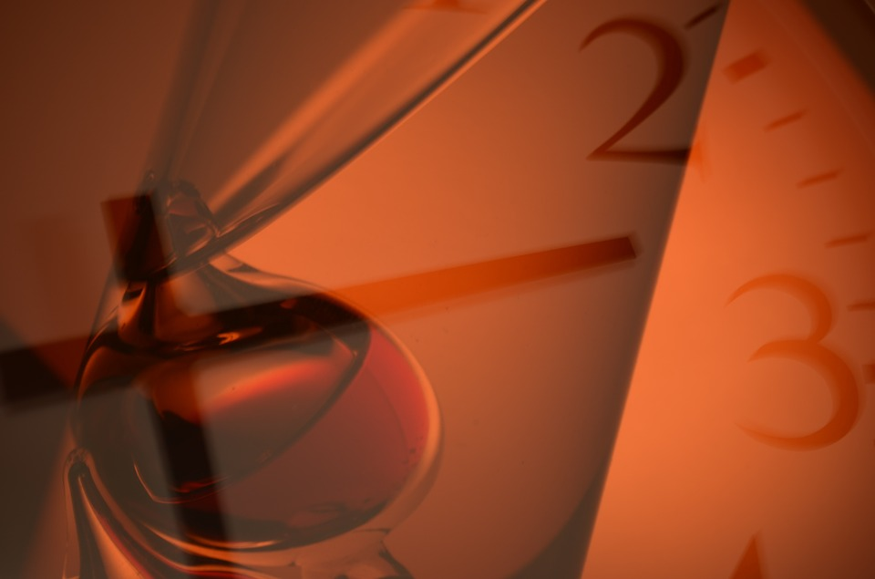 Clock, Time, Fantasy, Hours, Ball, Orange