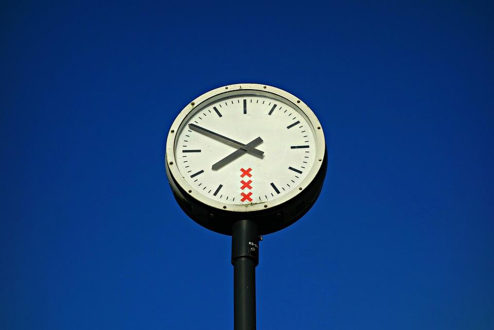 Clock, Hour, Time, Hand, Hour Hand, Minute Hand