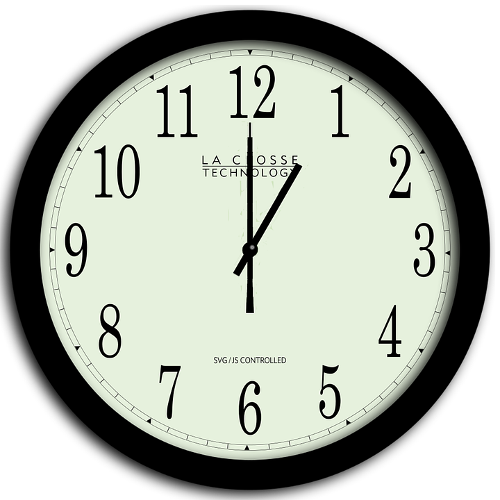 Clock, Time, Hour, Time Clock, Minute