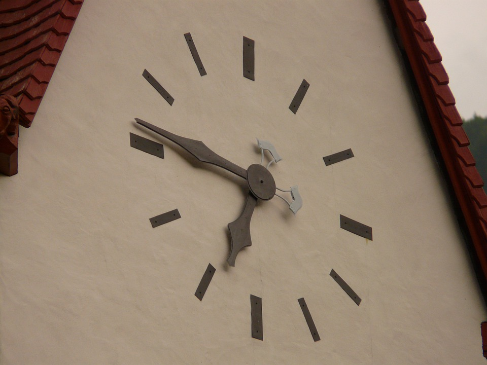 Time Of, Church Clock, Clock, Time, Time Indicating