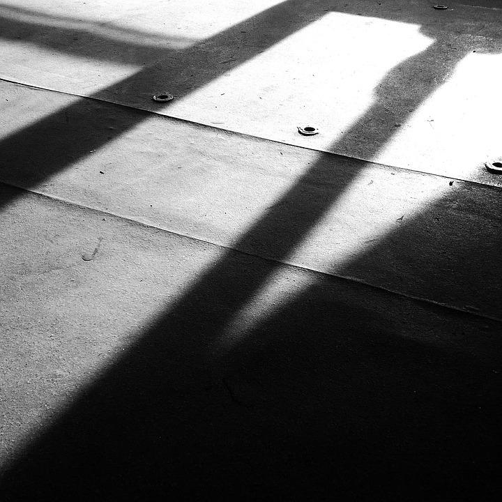 Light And Shadow, Black And White, Time