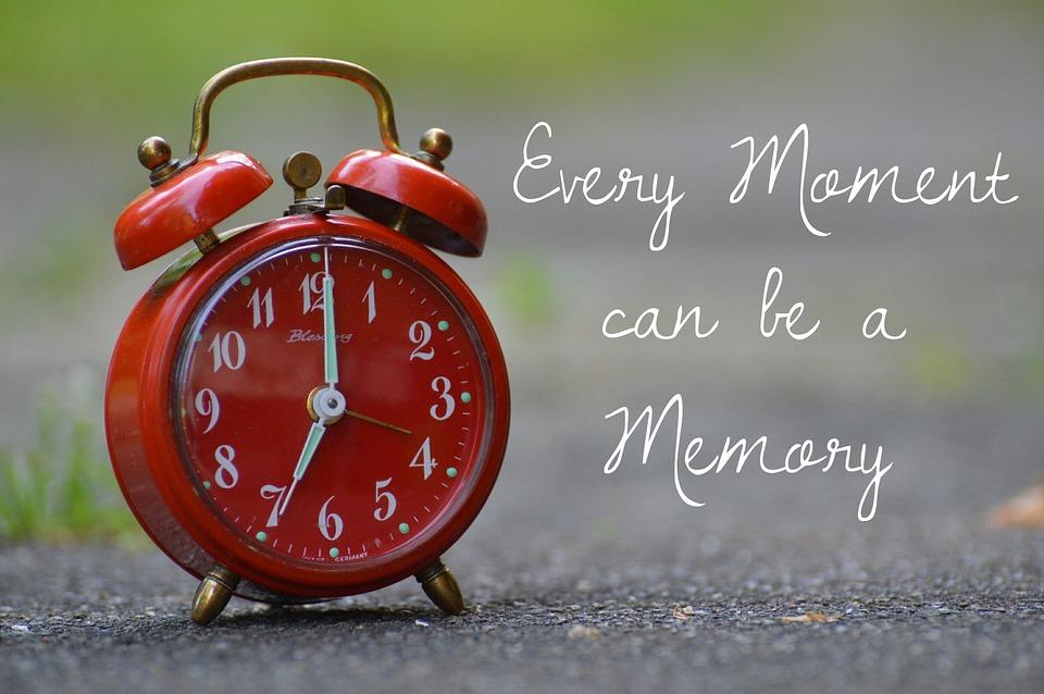 Memory, Time, Live, Moment, Clock, Alarm Clock