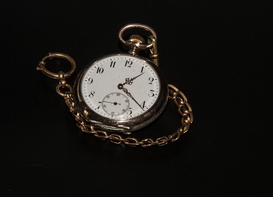 Pocket Watch, Timepiece, Clock, Time, Nostalgia