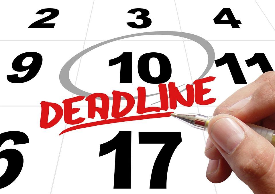 Time, Levy, Deadline, Hand, Leave, Pen, Note, Calendar