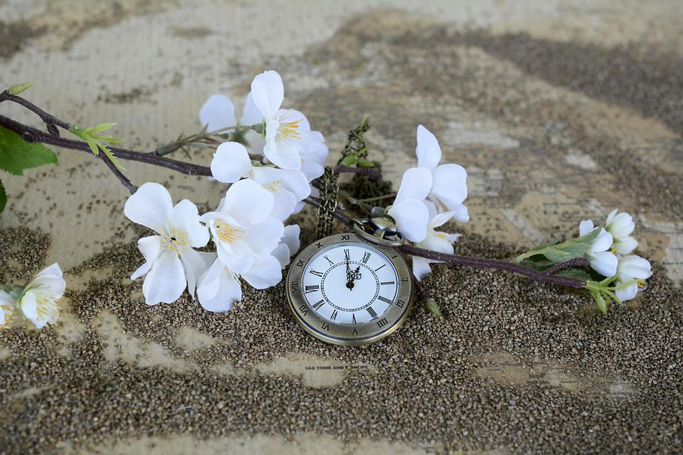 Pocket Watch, Time Of, Sand, Map Of The World, Time